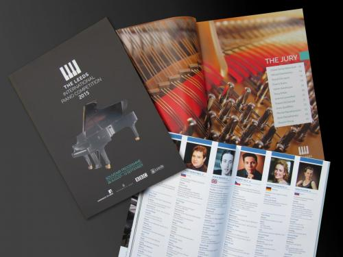 Leeds International Piano Competition, 2015 - Souvenir Brochure