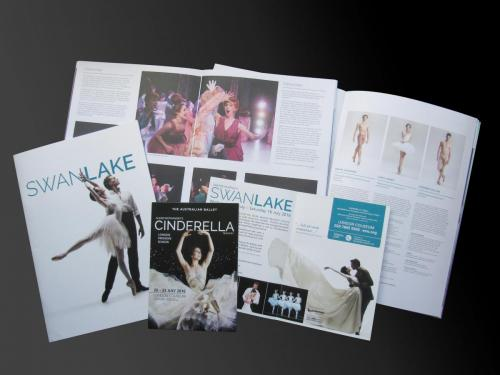 The Australian Ballet, London Coliseum 2016 - Souvenir Brochures, Cinderella and Swan Lake